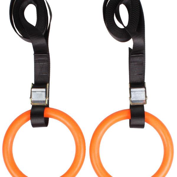 Kruhy oranžové