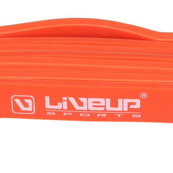LiveUp - Odporová guma - oranžová