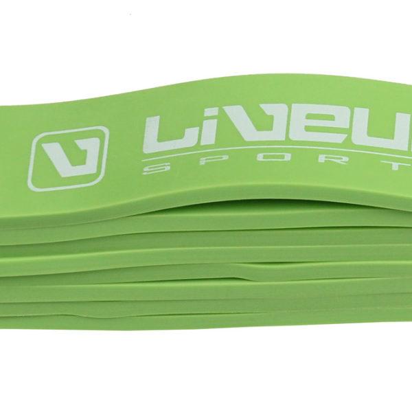LiveUp - Odporová guma - zelená