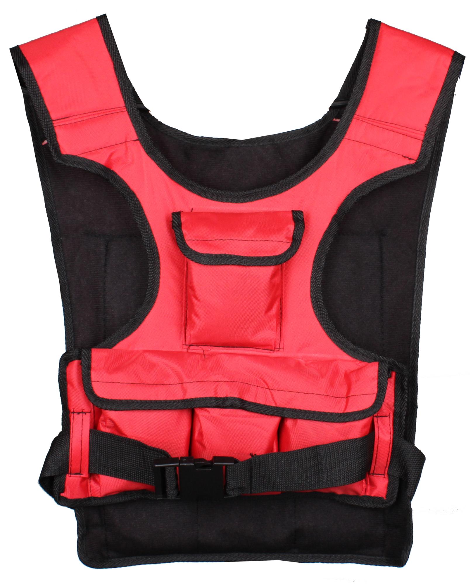 Záťažová vesta - 5kg - červená