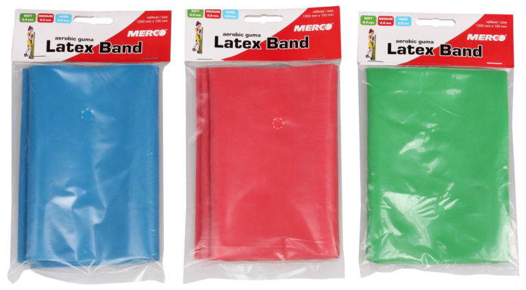 Aerobic guma Latex Band 1200x150