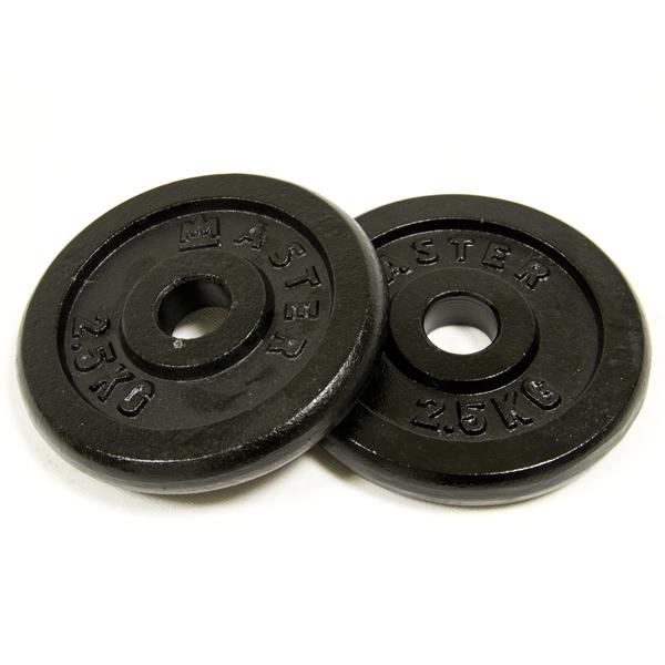 Kotúč 1,25 kg kov (pár)