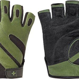 Pánske rukavice na cvičenie Harbinger 143 PRO Green