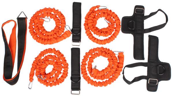 Tréningové lano - odporová guma (Double Gun)