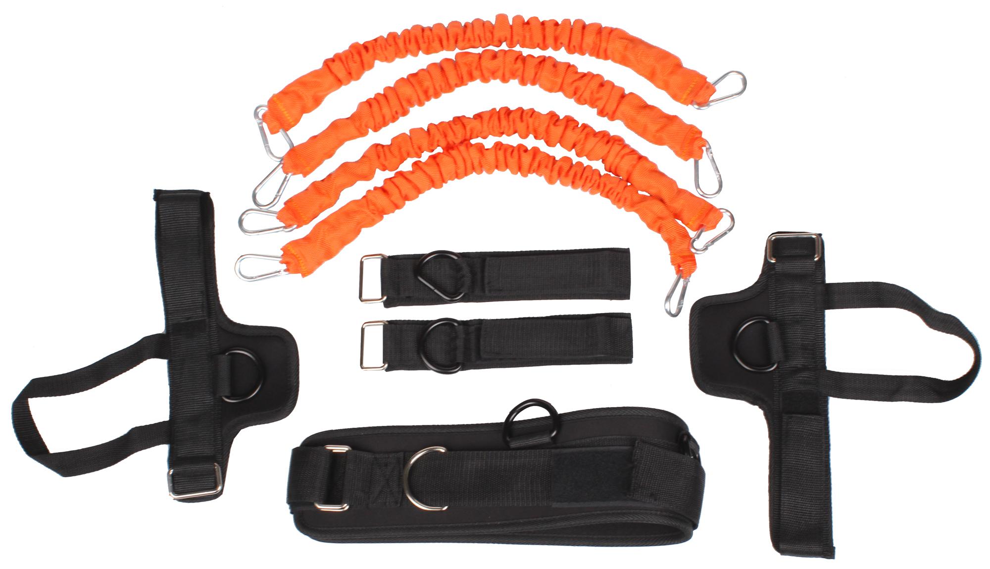Tréningové lano - odporová guma (Python Striker)