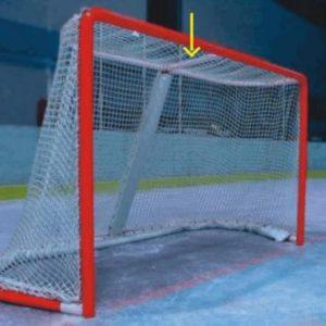 chránič hornej vzpery                                                  hokejové bránky