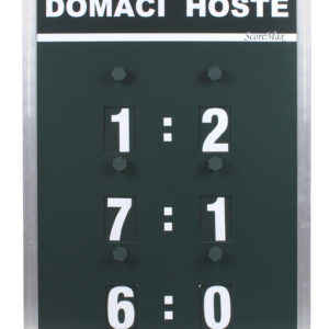 Score Max                                                              tenisový ukazateľ skóre