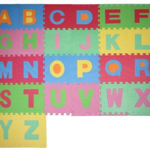 Písmená 3 penové puzzle