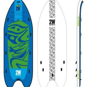 Big SUP paddleboard