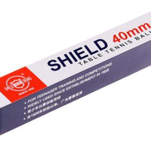 loptičky na stolný tenis Shield                                        sada 6 ks