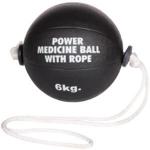 Power                                                    medicimbalová lopta s lanom