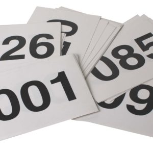 štartovacie čísla 1-100