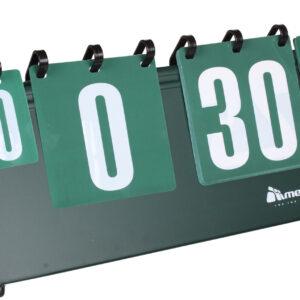 ukazovateľ skóre Meteor                                                0-30 bodov 0-7 setov