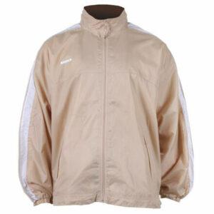 NJ-1 šustiaková bunda béžová veľkosť oblečenia