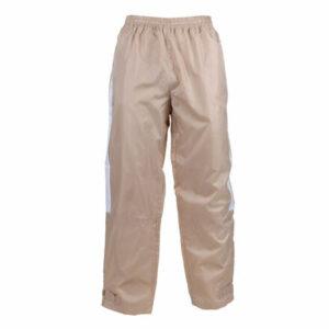 NP-1 šustiakové nohavice béžová veľkosť oblečenia XS