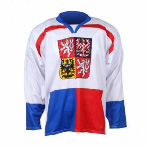 Replika ČR Nagano 1998 hokejový dres biela veľkosť oblečenia