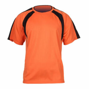 Chelsea dres s krátkymi rukávmi oranžová veľkosť oblečenia XL