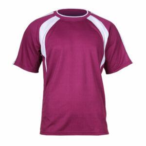 Chelsea dres s krátkymi rukávmi bordová veľkosť oblečenia XL