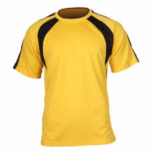 Chelsea dres s krátkymi rukávmi žltá veľkosť oblečenia