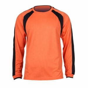 Chelsea dres s dlhými rukávmi oranžová veľkosť oblečenia XL