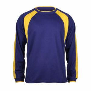 Chelsea dres s dlhými rukávmi modrá tm. veľkosť oblečenia XL