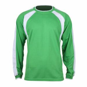 Chelsea dres s dlhými rukávmi zelená veľkosť oblečenia XL