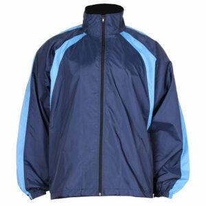 NJ-4 šustiaková bunda modrá veľkosť oblečenia
