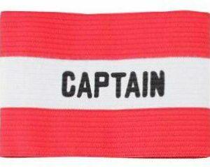 Kapitánska páska červená varianta 9602