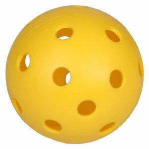 Strike florbalová loptička žltá varianta 10094