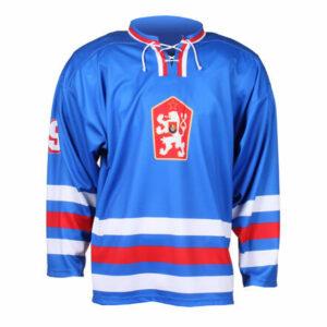 Replika ČSSR 1976 hokejový dres modrá veľkosť oblečenia
