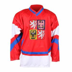 Replika ČR 2011 hokejový dres červená veľkosť oblečenia