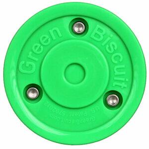 Original hokejový puk tréningový zelená varianta 15285