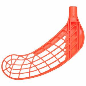 Blaster florbalová čepeľ oranžová ohyb ľavá