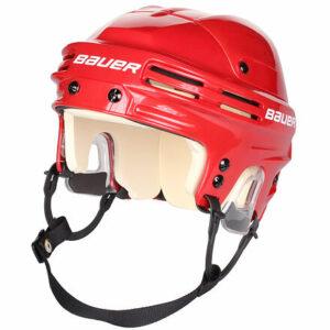 HH4500 hokejová prilba červená veľkosť oblečenia S