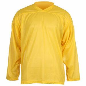 HV-4 hokejový dres žltá veľkosť oblečenia