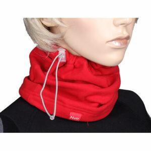 Winter multifunkčná šatka červená varianta 21613