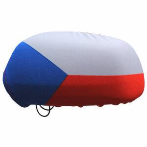 Návleky na zrkadlá CZ vlajka Česká republika balenie 1 pár