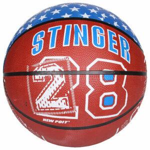 Print basketbalová lopta hnedá veľkosť plopty č. 7