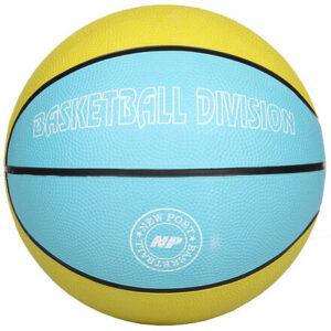 Print basketbalová lopta žltá veľkosť plopty č. 7