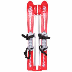 Baby Ski 90 cm detské mini lyže červená varianta 24172