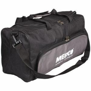 Športová taška 102  čierna-šedá varianta 24663