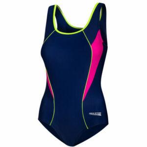 Kate dámske plavky modrá-ružová veľkosť oblečenia 36