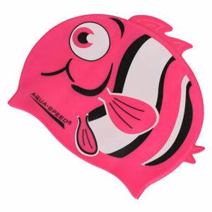 ZOO detská kúpacia čiapka ružová varianta 26019