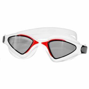 Raptor plavecké okuliare biela-červená varianta 27191