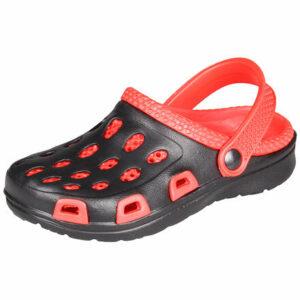 Silvi detské papuče červená-čierna veľkosť (obuv)