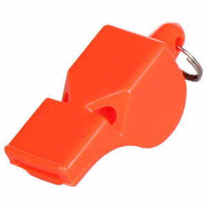 Whistle Colored 013 plastová píšťalka so šnúrkou varianta 29697