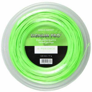 X-perience tenisový výplet 200 m zelená priemer