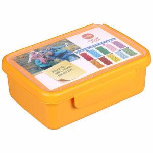 Zdravá desiata komplet box žltá varianta 33173
