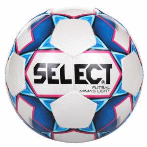 FB Futsal Mimas Light futsalová lopta biela-modrá veľkosť plopty č. 4