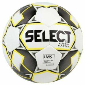 FB Futsal Master futsalová lopta biela-žltá veľkosť plopty č. 4
